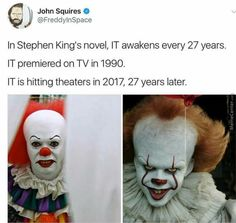 That's not completely true in the movie it's set in 1988/1989 (I believe) so the years would be a bit  off