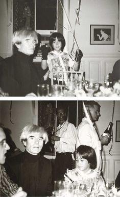 Andy Warhol, Andy Warhol, Keith Haring and Sean Lennon #warholatchristies
