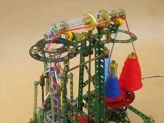 Meccano 3-yarn French knitting machine - overhead closeup - http://www.knittingstory.eu/meccano-3-yarn-french-knitting-machine-overhead-closeup/
