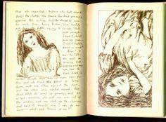 abovethemoonandawaywiththestars:    Lewis Carroll's original manuscript for Alice's Adventures Under Ground,1862