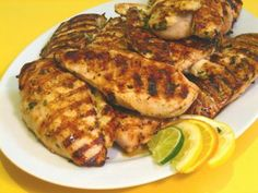 Once Upon A Feast - Every Kitchen Tells Its Stories: Grilled Cilantro Citrus Chicken