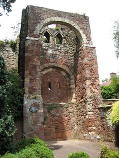 Exeter Castle AKA Rougemont Castle in Exeter, Devon, England. Richard FitzGilbert de Clare, Mike's great-grandfather, fought with King Stephen here in Devon And Cornwall, Devon Uk, Devon England, Exeter Castle, Devon Life, Exeter City, Places Ive Been, Places To Visit, Exeter Devon