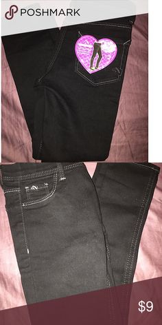 NWOT Jordache legging black girls 6/6x NWOT Jordache legging black girls 6/6x. This are very skinny in the leg. My daughter cant fit them. But these look so cute on. Petfree/smokefree home. jordache Bottoms Leggings