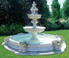Pin by Helene Dube on architecture Garden water fountains Backyard water fountains Water Water Fountain Design, Diy Fountain, Tabletop Fountain, Indoor Fountain, Fountain House, Fountain Park, Diy Water Feature, Backyard Water Feature, Outdoor Water Features