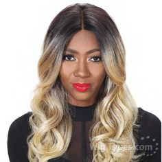 Zury Sis Slay Synthetic Hair Lace Front Wig - SLAY LACE H OLIVE [13780]