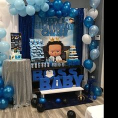 tall and deep Large BABY Table Base Foam Letters Mickey First Birthday, Boys First Birthday Party Ideas, Baby Boy 1st Birthday Party, Baby Party, Birthday Party Themes, Unique Baby Shower, Boy Baby Shower Themes, Baby Shower Balloons, Baby Boy Shower