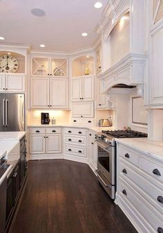 Kitchen Cabinet Types - CLICK THE PIC for Many Kitchen Ideas. #cabinets #kitchendesign