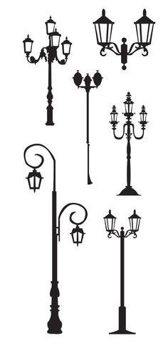 KLDezign les SVG: Des lampadaires  http://lessvgdekldezign.blogspot.ca/2012/06/des-lampadaires.html: