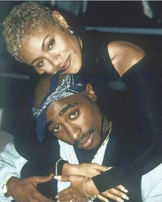 Tupac Amaru Shakur Foundation has plans to release a new record from the iconic rapper. Tupac Shakur recently appeared on the HNHH pages when three poems wri. Jada Pinkett Smith, Jada Pinkett Tupac, Rapper, Black Couples, Cute Couples, Black Love, Black Is Beautiful, Tupac And Jada, Tupac Wallpaper