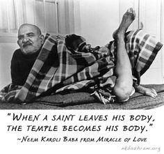 Neem Karoli Baba Neem Karoli Baba, Jai Gurudev, Autobiography Of A Yogi, Ram Dass, Material World, Unconditional Love, Mindfulness Meditation, Deep Thoughts, Namaste
