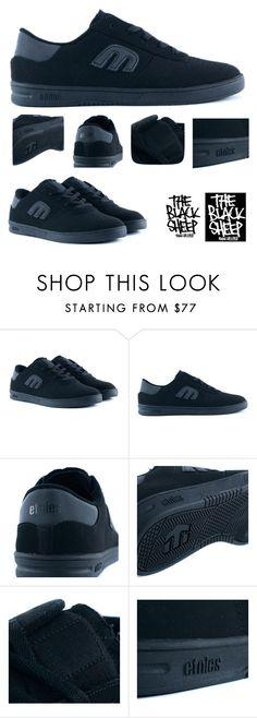 f892c4cd7593 The Etnies Lo Cut Black Black Black Skate Shoes Just £49.95. by  blacksheepstore on Polyvore