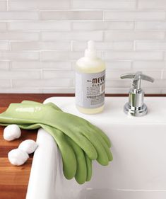 Cotton Ball as Rubber Glove Protector | More hidden tricks to get your house sparkling in record time.