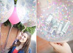 DIY Luftballons, Geldgeschenke für die Hochzeit