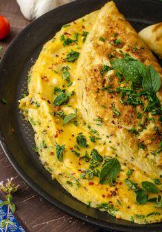 8 omeletes para turbinar o seu café da manhã