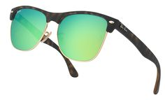 Ray-Ban - Clubmaster Oversized Eyewear, Mirrored Sunglasses, Ray Bans, Glasses, General Eyewear, Sunnies, Eyeglasses, Sunglasses