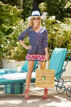 Reese in Riviera Romper