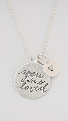 Five Little Birds by Littlefield Lane Sterling Silver You Are So Loved Charm