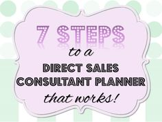 Effective time management is essential to be a successful direct sales consultant, and a direct sales planner is tailored to the party plan lifestyle. Save yourself time and headache by keeping all...