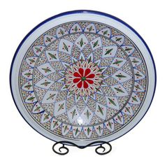 Tabarka Design Large Serving Bowl (Tunisia) | Overstock.com Shopping - The Best Prices on Bowls