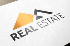 Real Estate Logo by NEXDesign on @creativemarket