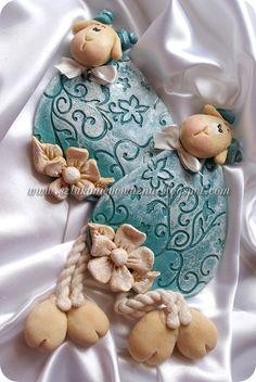 ***Sztuka n!epoważna*** Natalia Zabawa: Barwienie masy solnej barwnikami do jajek + Baranki