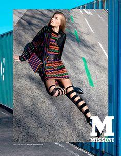 Campañas publicitarias moda otoño invierno 2013 2014 - Kristin Liljegren - M Missoni - Viviane Sassen