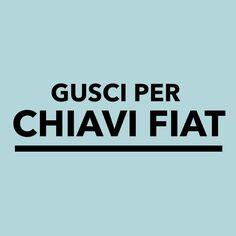 Gusci per Chiavi Fiat