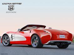 Chevrolet Corvette 'Route 66' Edition Design... - Gabetumblr