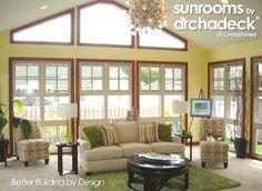 Future addition?  4-Season Room Addition (Interior) Des Moines - Boone