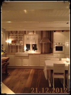 the heart of the house. love my kitchen Kitchens, Loft, Heart, House, Home Decor, Houses, Decoration Home, Home, Room Decor