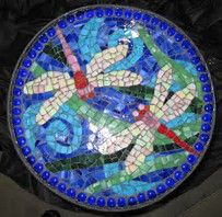 Image result for Images of Dragonflies Mosaic