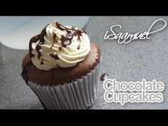 How to make Delicious Chocolate Cupcakes! (Moist and Chocolatey) - YouTube