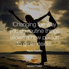 How about choosing to change the way you do some things? It will open up new mindsets & possibilities for you :)