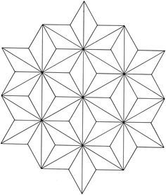 Creative Haven Geometric Star Designs Coloring Book pages