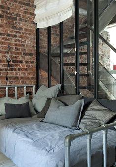 Bedroom Design Parisian Apartment