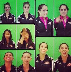 Fab 5 gymnasts
