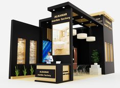 Albamar marble exhibition stand on behance exhibition stall, exhibition boo Exhibition Stall, Exhibition Booth Design, Exhibition Display, Exhibition Ideas, Kiosk Design, Display Design, Stand Feria, Expo Stand, Trade Show Design