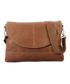 Take a look at this Brown Eva Messenger Bag by Ellington on #zulily today!