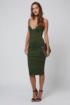 fa3b8ad340b9   Strappy Bodycon Midi Dress by Rare My Shopping List