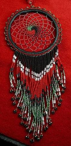 Awesome Unique Totally Beaded Dreamcatcher Story Native American Indian | eBay