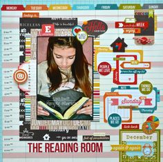 The Reading Room *Simple Stories Daily Grind* - Scrapbook.com