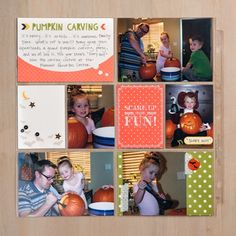 Halloween themed Project Life!  order products at sjsinks.stampinup.net