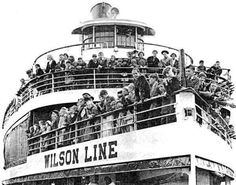 Wilson Line SS Mount Vernon made several trips a day to Marshall Hall Park.