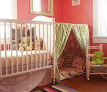 ...my child will have a fun fort-like hide-away!