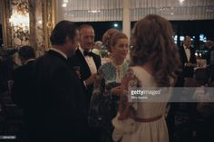 Actors David Niven (1910 - 1983) and Princess Grace of Monaco (1929 - 1982) attend a party in Monte Carlo, August 1970.