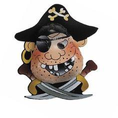 Partygeschenk Schoko Pirat