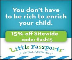 Little Passports Flash Sale: Two Days only 9/24 -9/25--15% off subscription total