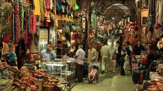 The Grand Bazaar (Kapalicarsi in Turkish) is one of the oldest and largest covered markets in the world.
