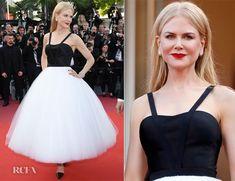 Little black dress with a twist (or should we say tutu)- Nicole Kidman in Calvin Klein http://shop.leplonque.com.au/blog/favourites-from-festival-de-cannes/