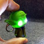 Keyring Pendant Decoration ABS Master Key Chain with Light / Sound Movie Product